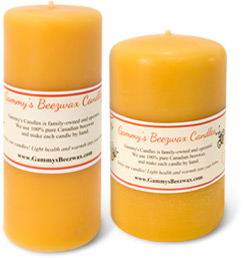 Handcrafted Beeswax Candles